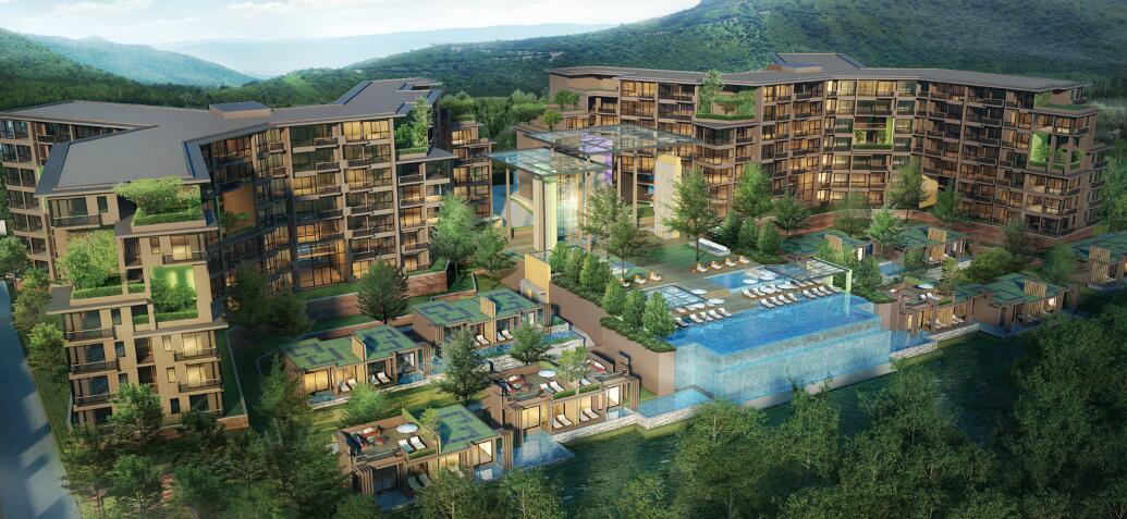 泰国拷艾森林公寓楼项目,建筑面积26000㎡.jpg