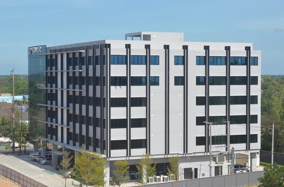 泰国正大集团CP Land公司洛坤府办公楼工程, 建筑面积9896㎡.jpg